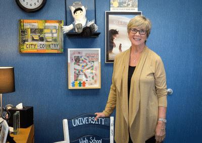 Nancy Webster, Director of Admission