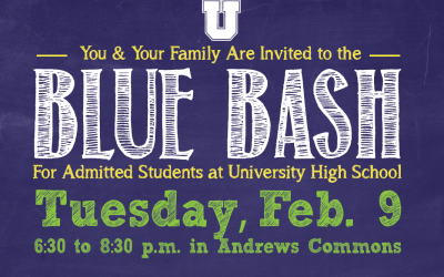 Admitted Families Invited to 2016 Blue Bash