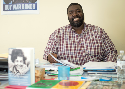 Erion Clark, Math Instructor