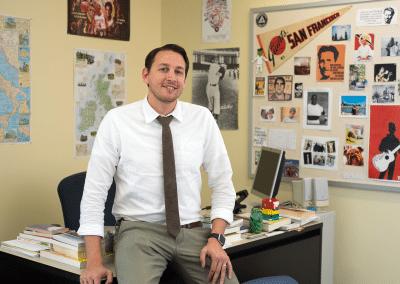 Jake Thurman, History & English Instructor