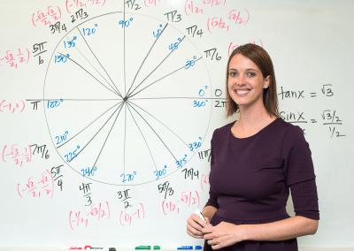 Jenny Cox, Math Instructor