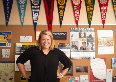 Maddy MacAllister, Director of College Counseling