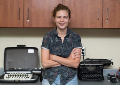 Maggie Beckman, English Instructor