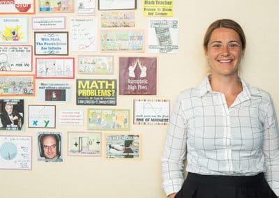 Meredith Hogan, Math Instructor