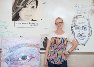 Meredith Van Rooy, Art Instructor
