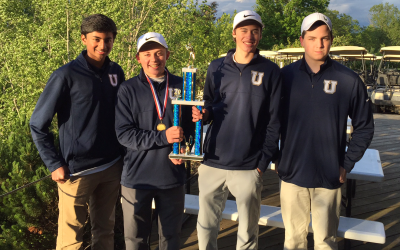 Boys Golf Team Wins PAAC Conference Tournament