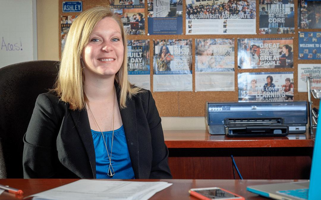 Ashley Crockett-Lohr, Director of Communications
