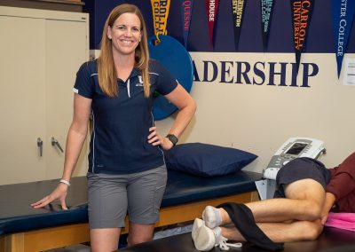 Betsy Bradley, Athletic Trainer
