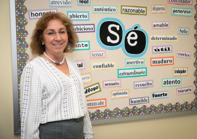 Mercedes Muñiz-Peredo, Spanish Instructor