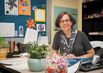 Kathleen Armato, Math Instructor