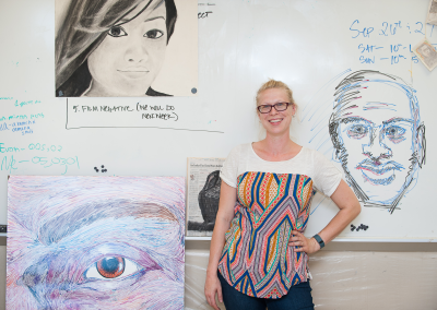 Meredith Van Rooy, Art Instructor