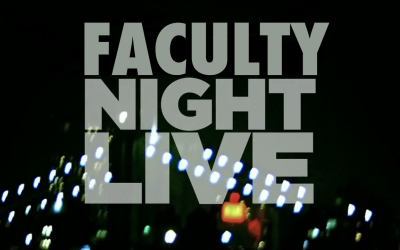 Live from University High School…It's Faculty Night Live!