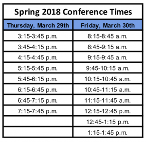 Spring-Conference-Times