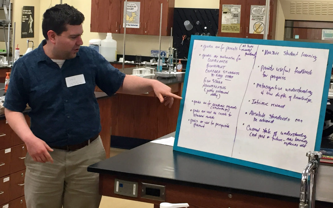 Teacher Hosts Statewide Summit on Grading & Assessment