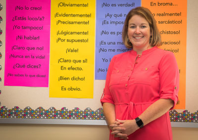 Jill Woerner, Spanish Instructor