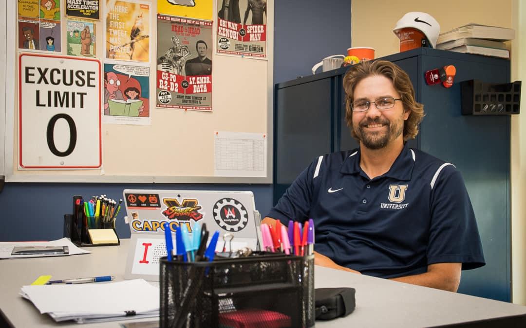 Brandon Hogan, Math & Science Instructor