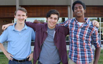Three Seniors Named National Merit Semifinalists