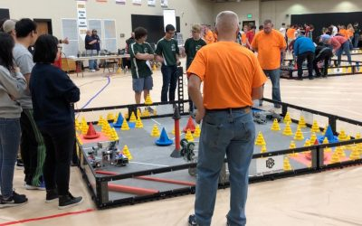 Robotics Team Gearing Up for 2nd Competition