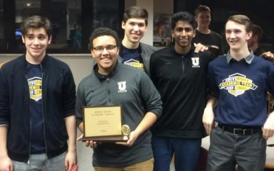 Academic Team Wins League Championship, Makes School History