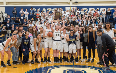 Girls Basketball Team Wins 2018 Sectional Championship