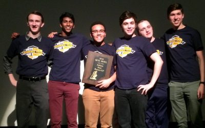 Academic Team Finishes 2nd in State Quizbowl Tournament
