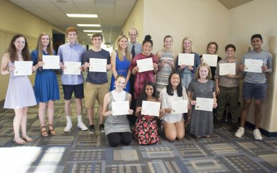 Inaugural Academic Recognition Night Honors Students