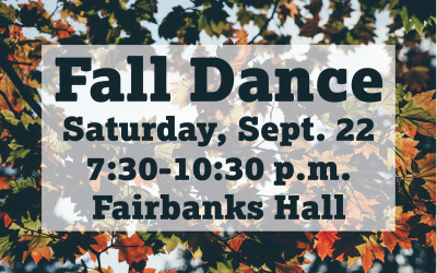Stewardship Council Holds Fall Dance on Sept. 22