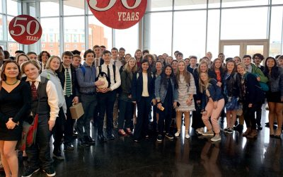 Trailblazers Serve As Diplomats in Model UN Conference