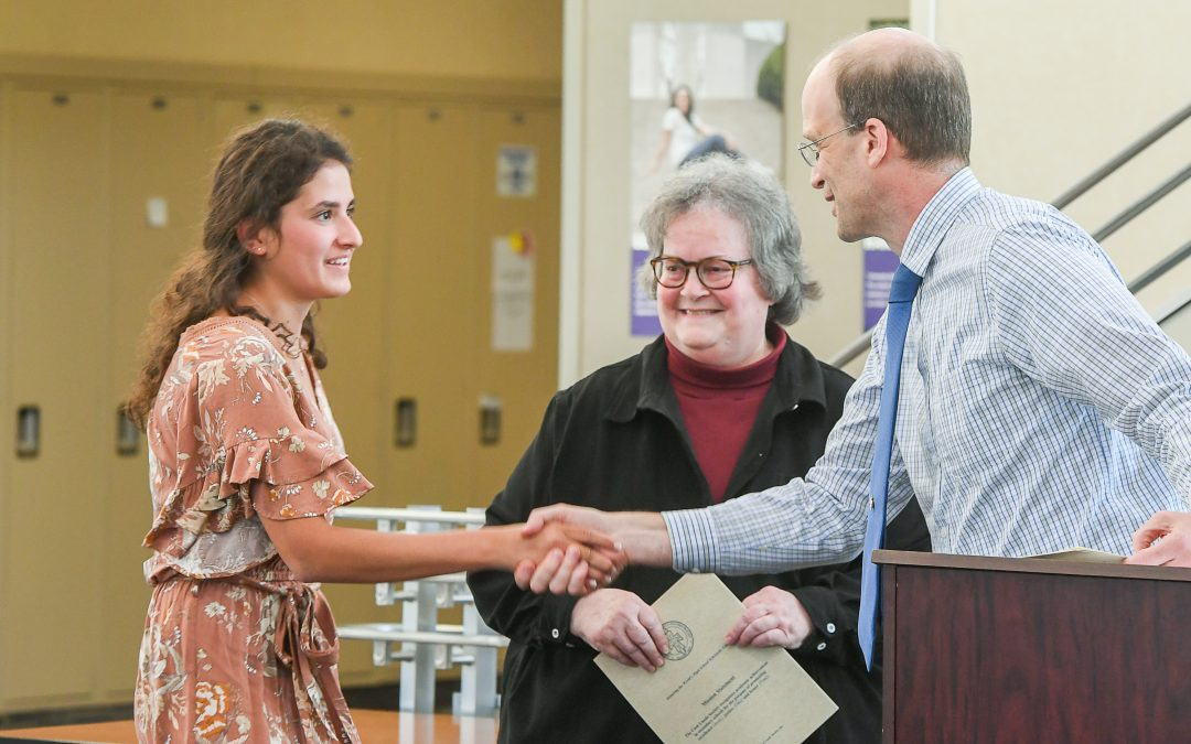 Students Honored at 2019 Academic Recognition Night