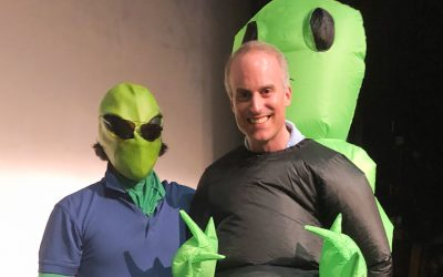 Area 51 Raid Inspires Students to Stage Alien Abduction