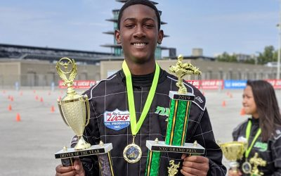 Steven Scott ('23) Wins NXG Youth Driver of the Year Award