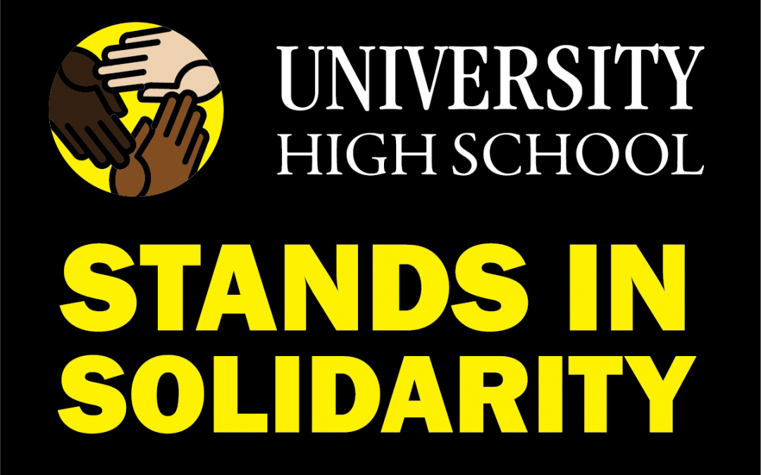 University High School Issues Statement of Solidarity