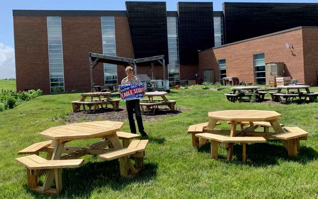 Eagle Scout Projects Enhance University Campus
