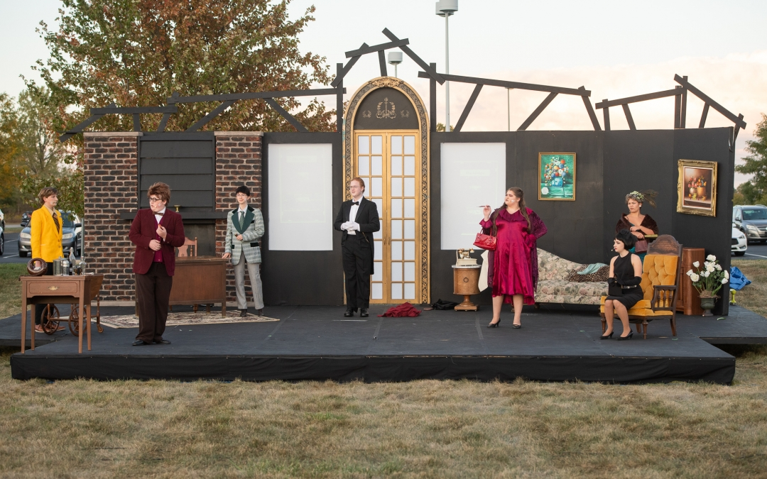 "New Photos: Fall Play, ""Clue,"" Opens Oct. 1"