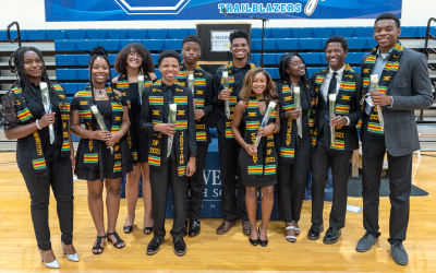 Photos: Black Affinity Celebrates Ten Members of Class of 2021