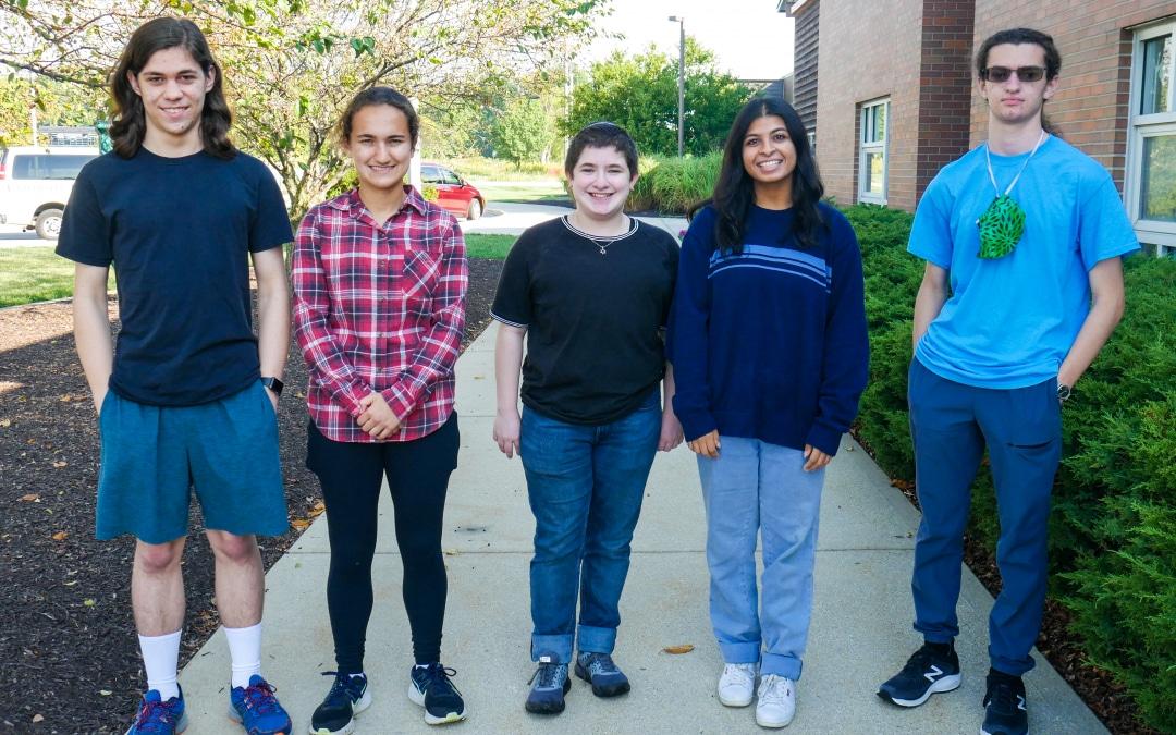Five University Seniors Named National Merit Semifinalists